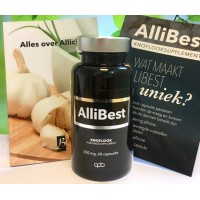 Allibest - Allicine Knoflook 250 mg, 5 mg allicine, 60 capsules