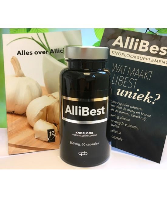 Allicine Knoflookcapsules 60 capsules met gratis boekje