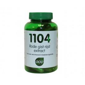 AOV 1104 Rode gist rijst extra - 90 capsules Voedingssupplementen