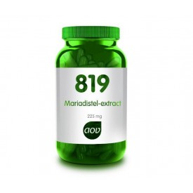 AOV 819 Mariadistel extract 225 mg - 90 vcps