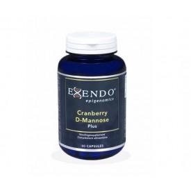 Exendo Cranberry D-Mannose Plus 60 caps Mineralen