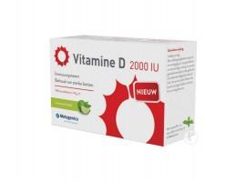 METAGENICS VITAMINE D3 2000IU - 168 KWAUWTABLETTEN Vitamine D