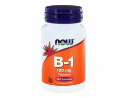 Now B1 100 mg, 100 tabletten Vitamine B1